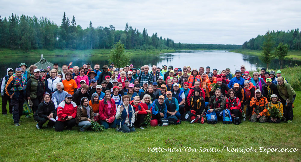 Kemijoki Experience 2014 - Participants group