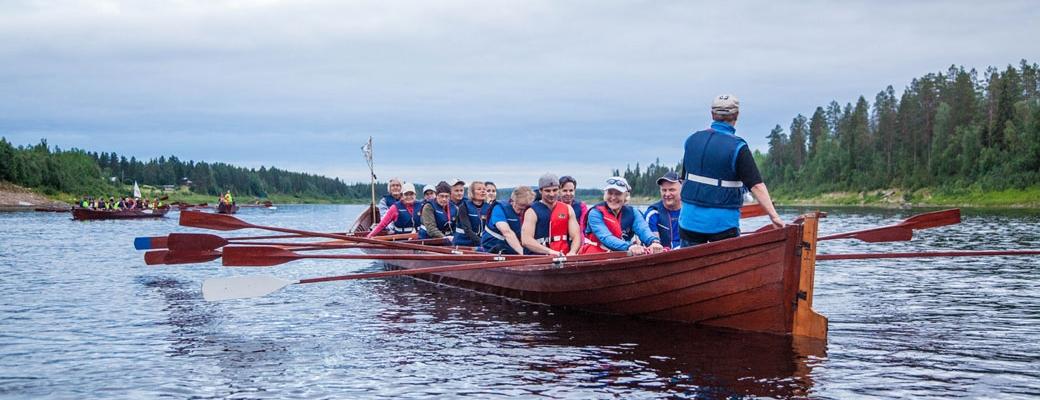 Kemijoki kutsuu soutajia! (Kuva: Antti Kurola)